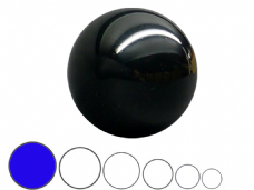 Jac Products Black Translucent 100mm Acrylic Contact Ball